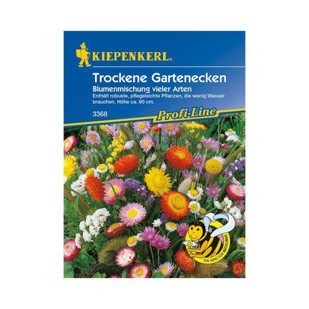 Trockene Gartenecken 'Blumenmischung vieler Arten'