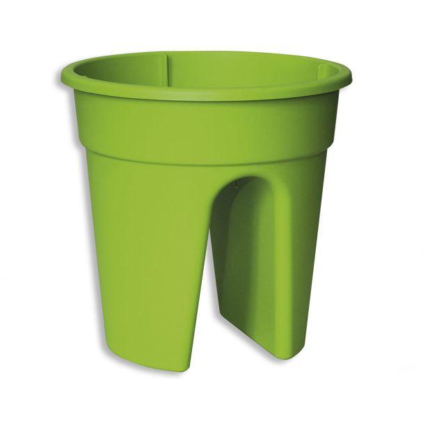 Flowerclip, 4er Set, grün
