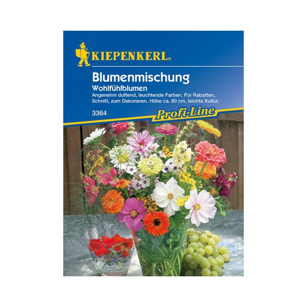Blumenmischung 'Wohlfühlblumen'