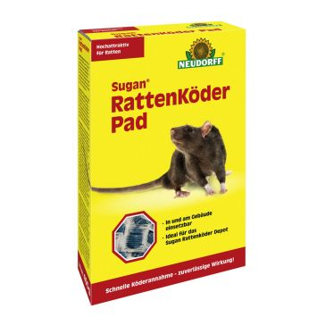Sugan® Ratten Köder Pad 400 g (100g / € 5,00)