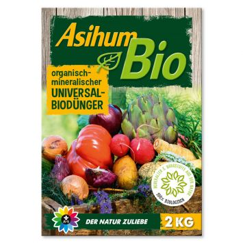Asihum Bio Universaldünger 2 kg (1kg / €4,50)
