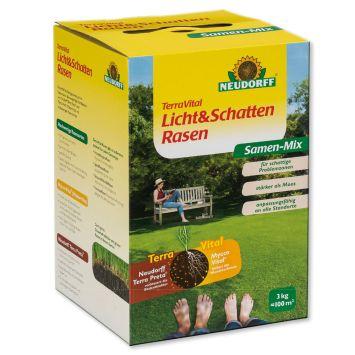 TerraVital® 'Licht&SchattenRasen' Samen-Mix 3 kg (1 kg / € 13,33)