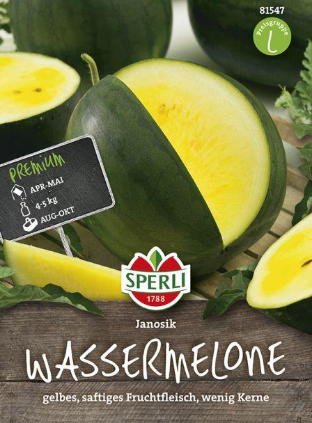 Gelbfleischige Wassermelone 'Janosik'