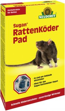 Sugan® Ratten Köder Pad 400 g