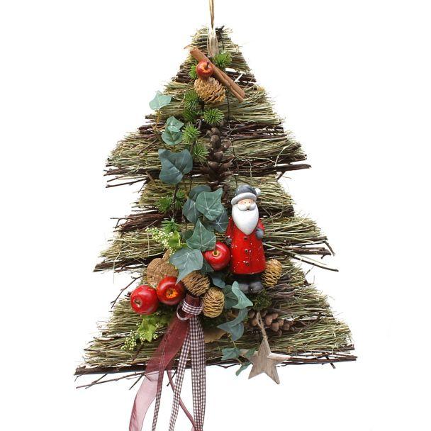 Baum mit Weihnachtsmann - NaturProdukt
