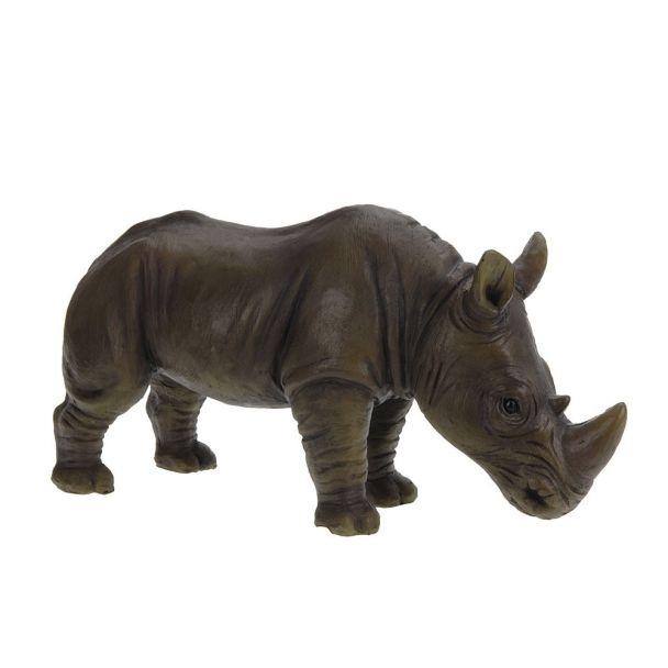 Deko Nashorn, 33 x 10,50 x 18 cm