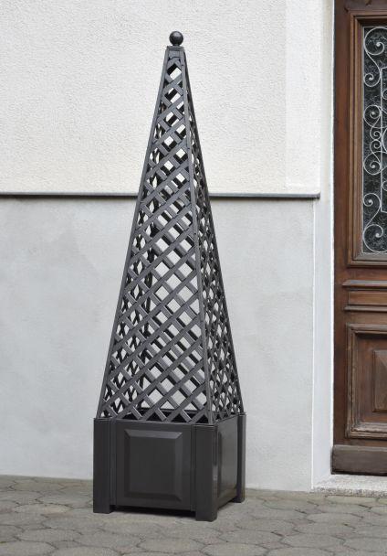 Obelisk, anthrazit