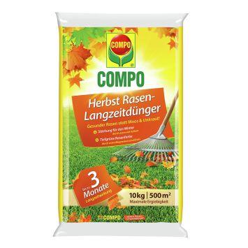 COMPO Herbst Rasen-Dünger 10 kg für 500qm (1 kg = € 3,00)