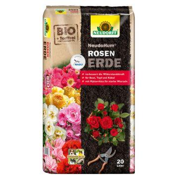 NeudoHum® Rosen-Erde 20 Liter (1 Liter / € 0,35)