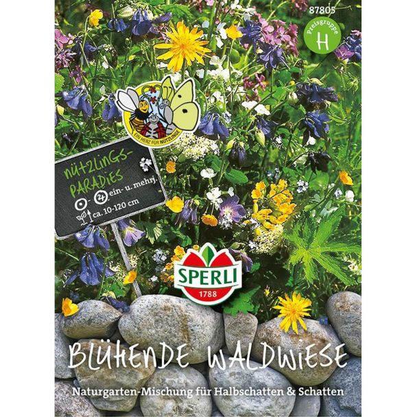 Blumenmischung 'Blühende Waldwiese'