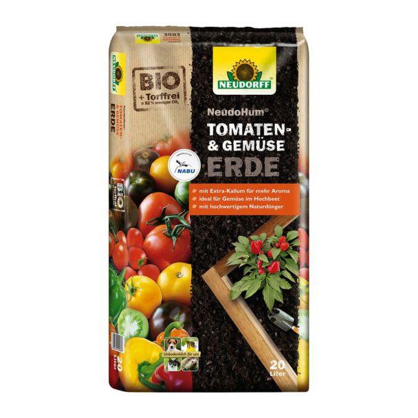 NeudoHum® 'Tomaten- und GemüseErde' 20 Liter (1 l / € 0,35)