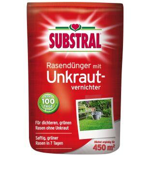 Substral®  Rasendünger mit Unkrautvernichter 9 kg / 450 m² (1 kg / € 6,67)