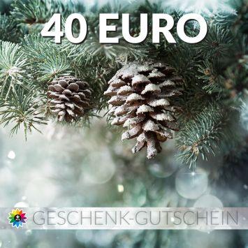 Geschenk-Gutschein, Wert 40 Euro Tanne