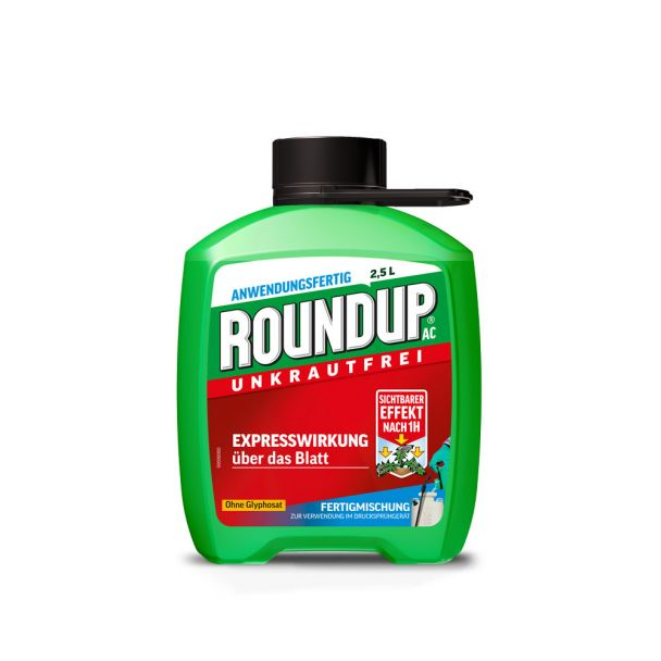 ROUNDUP® AC 2,5 Liter (100 ml / € 1,08)