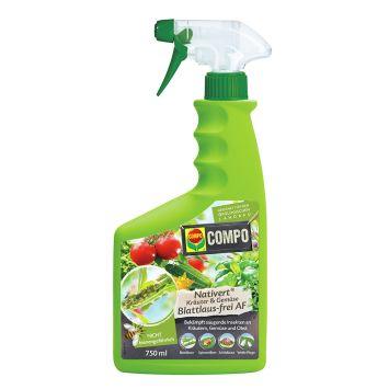 COMPO Nativert® Kräuter&Gemüse Blattlaus-frei AF - 750 ml (100 ml = €1,33)