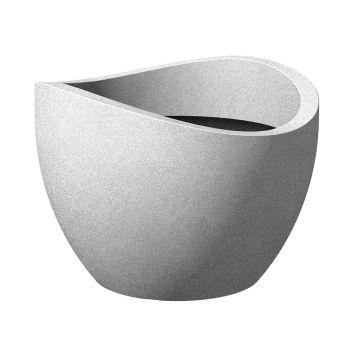 'wave globe®' Stony Grey Ø 40 cm