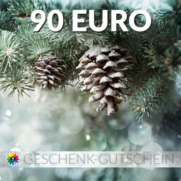Geschenk-Gutschein, Wert 90 Euro Tanne
