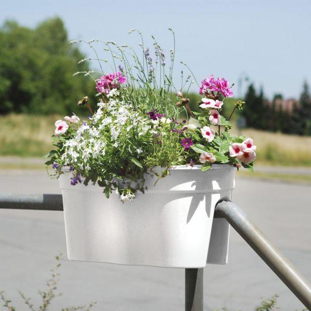 Flowerclip XL, 2er Set, weiß