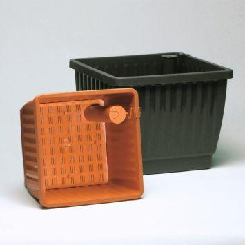 Pflanzkübel 'Aqua Top', terracotta