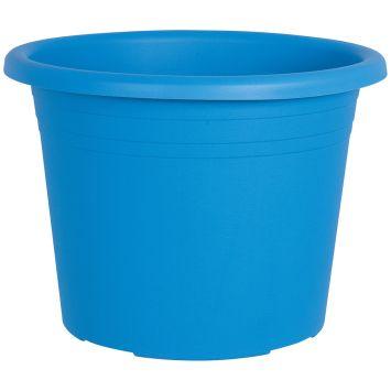 Blumentopf 'Cylindro', hellblau, Ø 30 cm