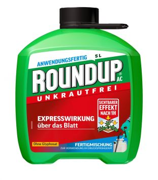 ROUNDUP® AC 5 Liter (100 ml / € 0,90)