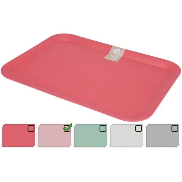 Tablett 43x32 cm Rosa