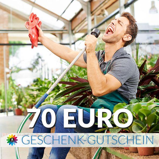 Geschenk-Gutschein, Wert 70 Euro Sänger