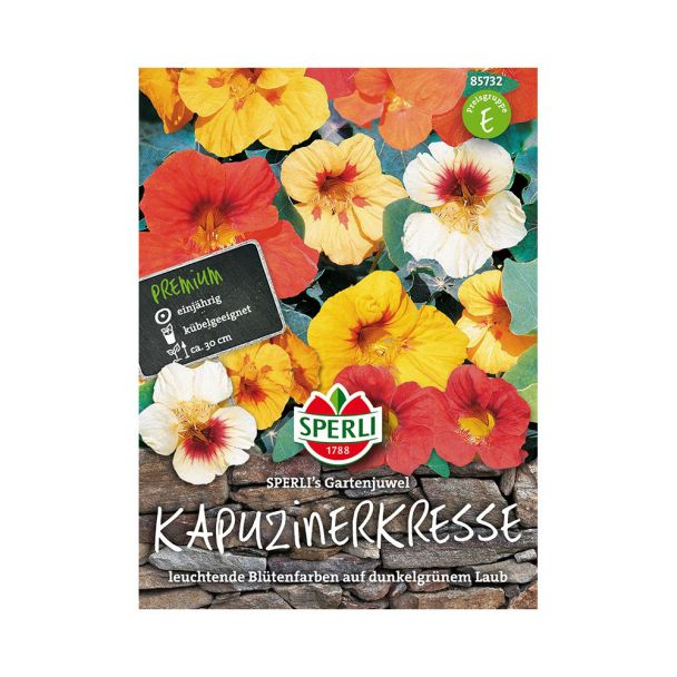 Kapuzinerkresse 'SPERLI´s Gartenjuwel'