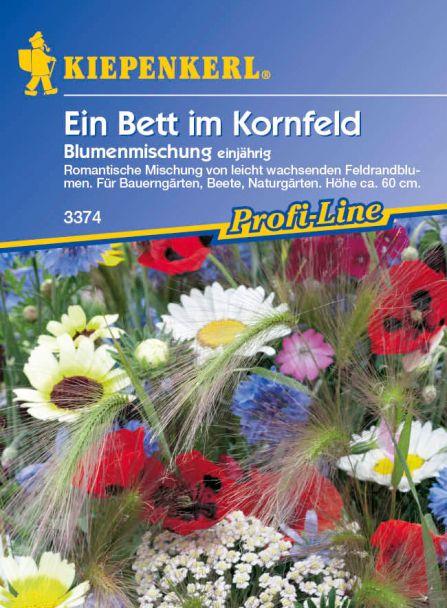 Ein Bett im Kornfeld 'Blumenmischung einjährig'