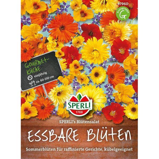 Essbare Blumen 'SPERLI´s Blütensalat'