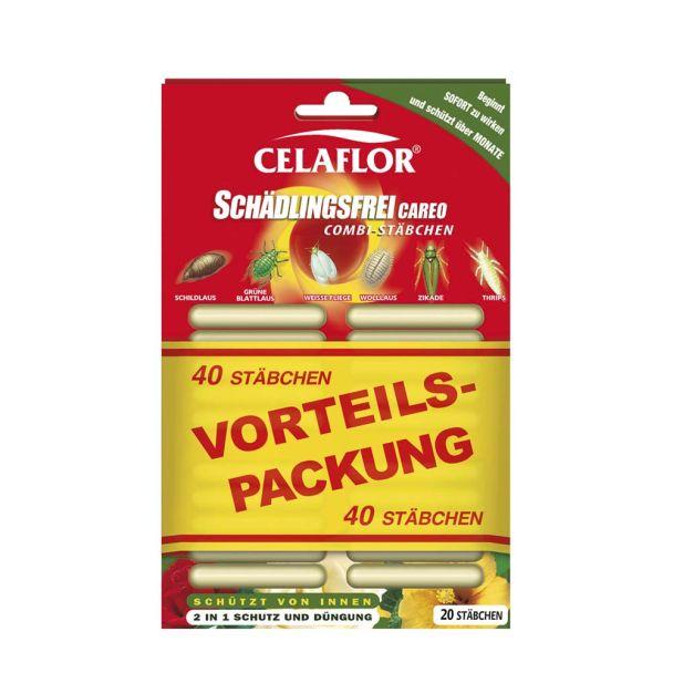 Celaflor® 'Schädlingsfrei CAREO' Combi-Stäbchen (40 Stück)