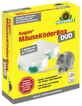 Neudorff Sugan® MäuseKöderBox DUO