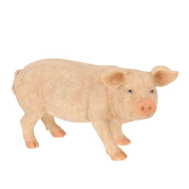 Deko Schwein, rechts blickend, 44 x 22 x 22cm