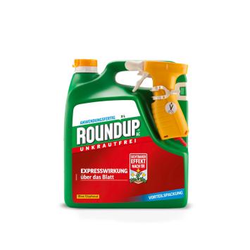 Roundup® AC, 3 Liter Sprühsystem - Ohne Glyphosat! (1 Liter/ €11,00)