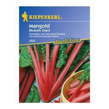 Mangold 'Rhubarb Chard, rot'
