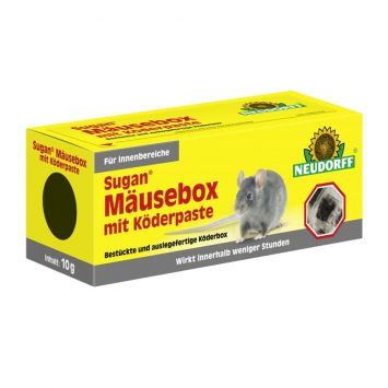 Sugan® Mäuse Box mit Köder Paste