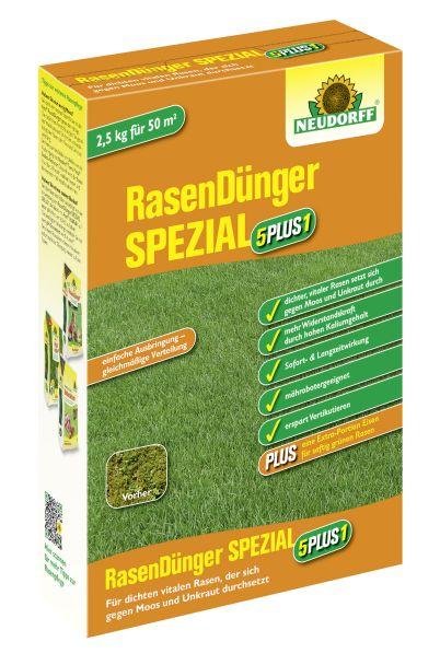 Neudorff RasenDünger Spezial '5PLUS1', 2,5 kg (100 g / € 0,50)