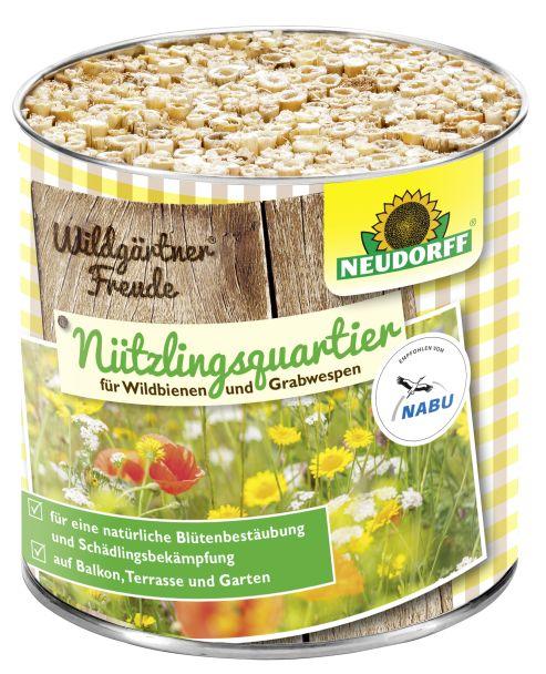 Neudorff Wildgärtner® Freude Nützlingsquartier für Wildbienen und Grabwespen