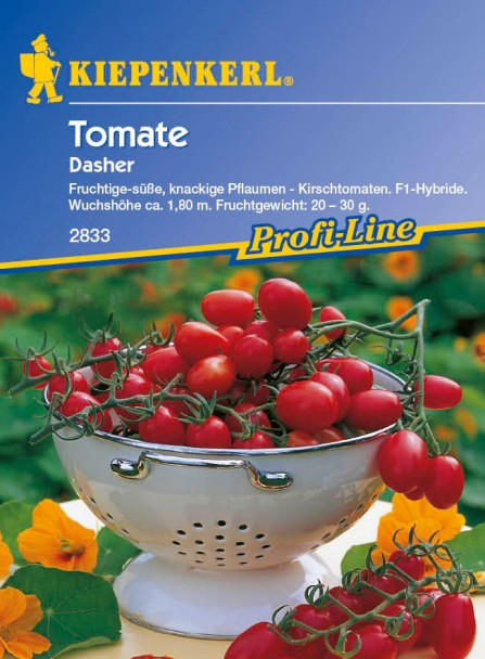 Tomaten (Cherry) 'Dasher' F1