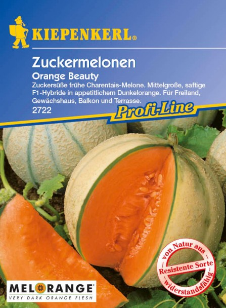 Balkon-Zuckermelone 'Orange Beauty' F1
