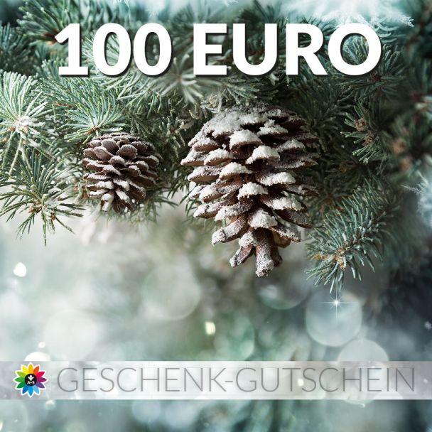 Geschenk-Gutschein, Wert 100 Euro Tanne