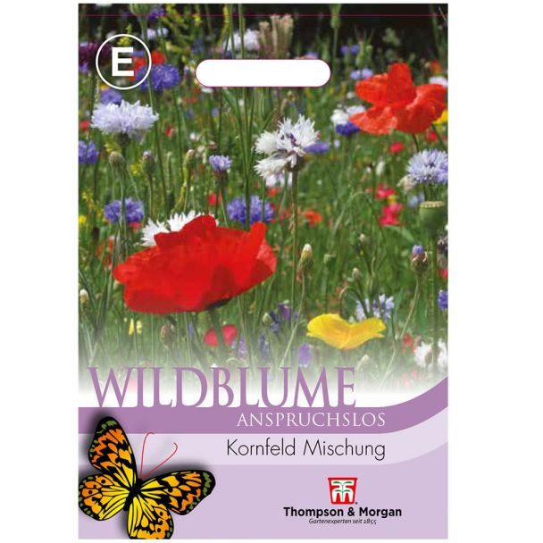 Wildblume Kornfeld Mischung