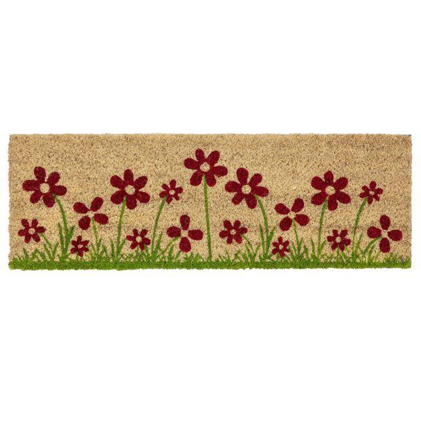 ASTRA Fußmatte Coco Style 'Blumenwiese', 25 x 75 cm