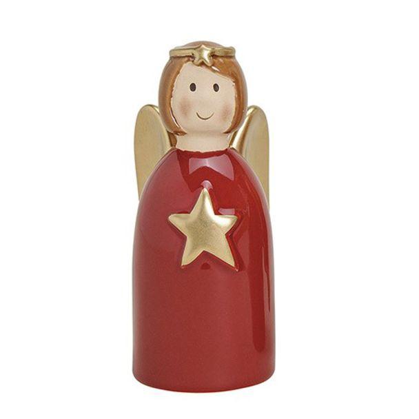Engel mit Stern, 12 cm