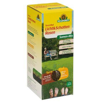 TerraVital® 'Licht&SchattenRasen' Samen-Mix 1,5 kg (1 kg / € 15,33)