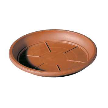 Untersetzer für Pflanztopf Cilindro Day R, 30cm, Terracotta