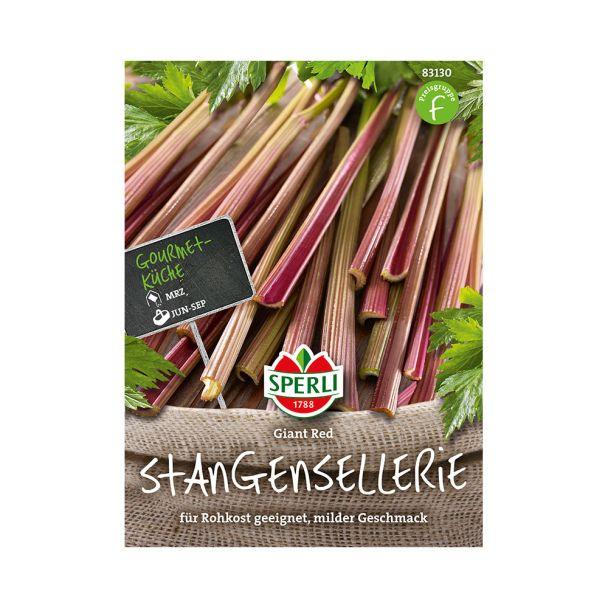 Stangensellerie 'Giant Red'