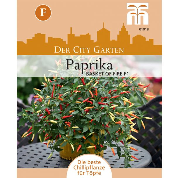 Paprika Basket of Fire F1
