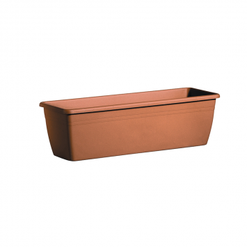 Blumenkasten Cassetta Day R, 60cm, Terracotta