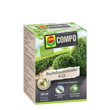 COMPO Buchsbaumzünsler K.O., 50 ml (10 ml = € 3,00)